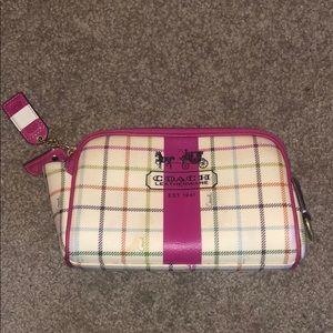Coach Travel Makeup Bag
